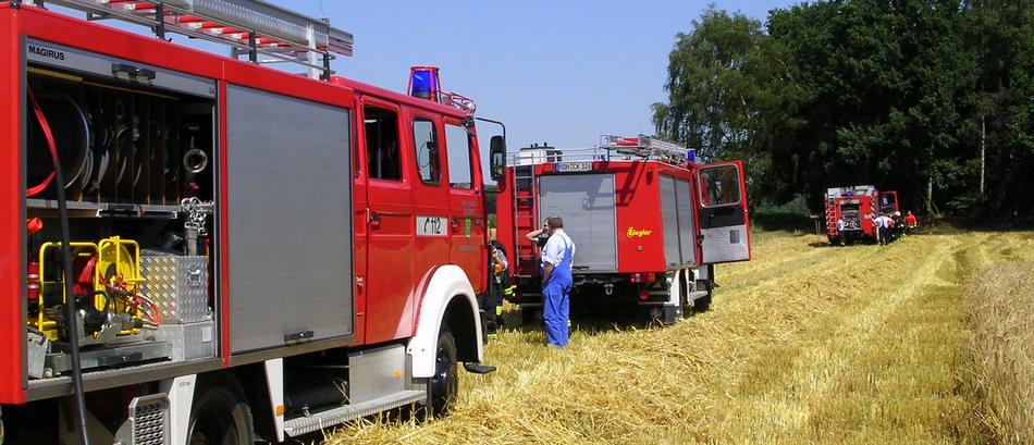 Erneuter Brandeinsatz für die Feuerwehr