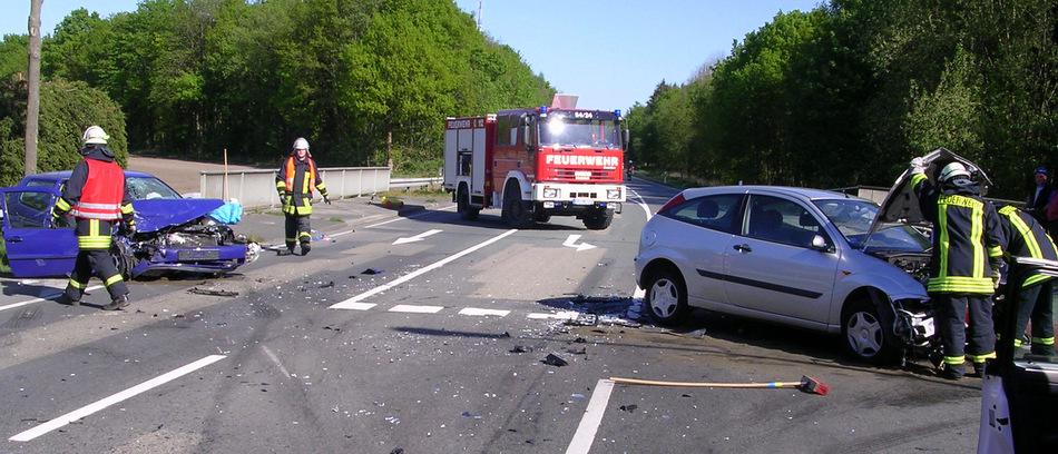 Verkehrsunfall auf der Ruller Starße (L 109)
