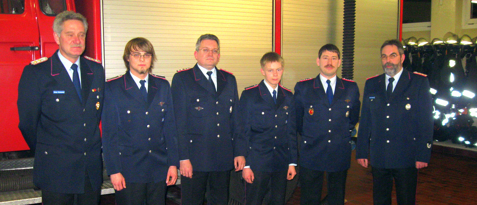 v.l.n.r.: Georg Vennemann, Carsten Nitsche, Udo Meyer, Thorsten Matysek, Udo Klenke, Ulrich Beimesche