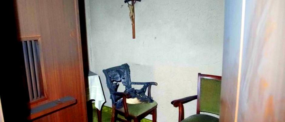 Starke Rauchentwicklung in Belmer Kirche