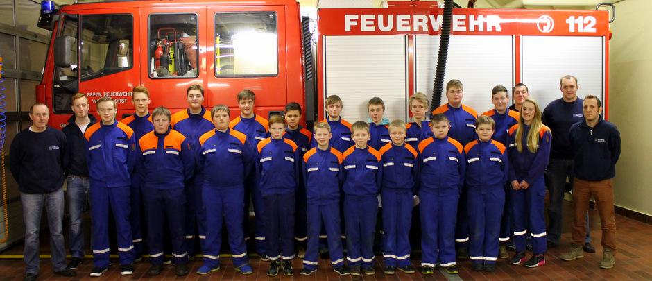 Jahreshauptversammlung der JF Wallenhorst 2015