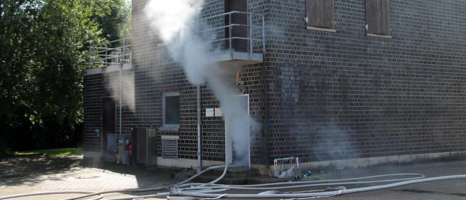 Atemschutzfortbildung in der Brandsimulationsanlage Lemgo