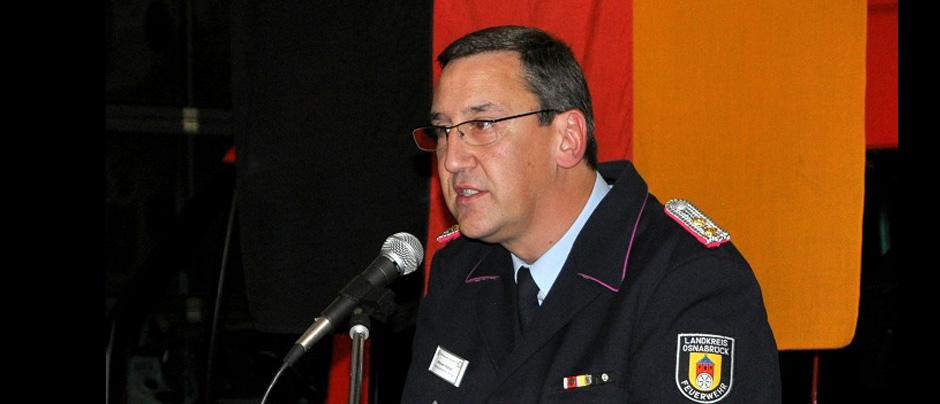 Jahresabschlussdienstversammlung der Kreisfeuerwehrbereitschaft Süd