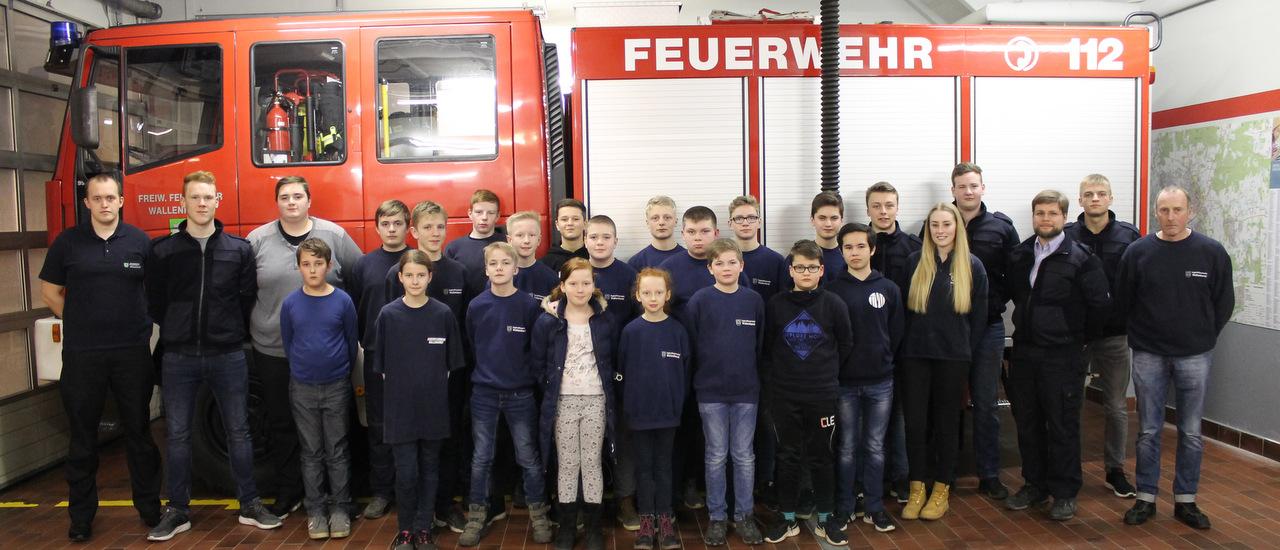 Jahreshauptversammlung der Jugendfeuerwehr Wallenhorst